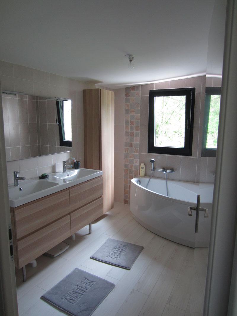 Florian stoffel une extension de maison individuelle en ossature bois thionville - Etabli salle de bain ...